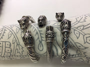 Sterling Animal Cuffs