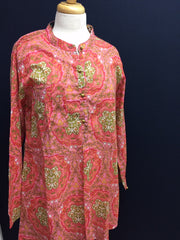 Everyday Block Printed Tunic- Fitted