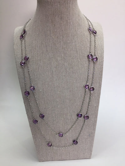 Dottie Amethyst Necklace