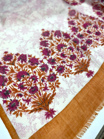 Persian Flower Scarf