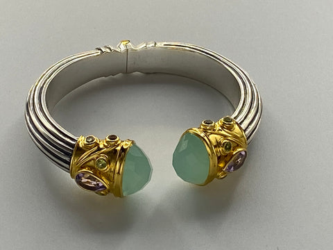 Chalcedony Queen Cuff