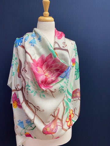 Enchanted Garden Scarf