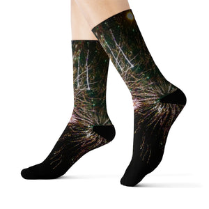 """Fireworks MkII"" Sublimation Socks - Cluedshopperclothing"