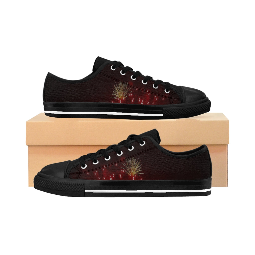 """Fireworks"" Women's Sneakers - Cluedshopperclothing"