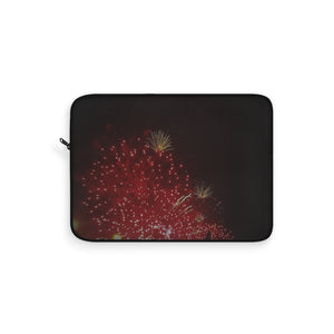 Laptop Sleeve Fire Works - Cluedshopperclothing