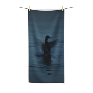 """Canada Goose Taking Off"" Polycotton Towel - Cluedshopperclothing"