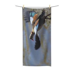 """Egyptian Goose Flight"" Polycotton Towel - Cluedshopperclothing"