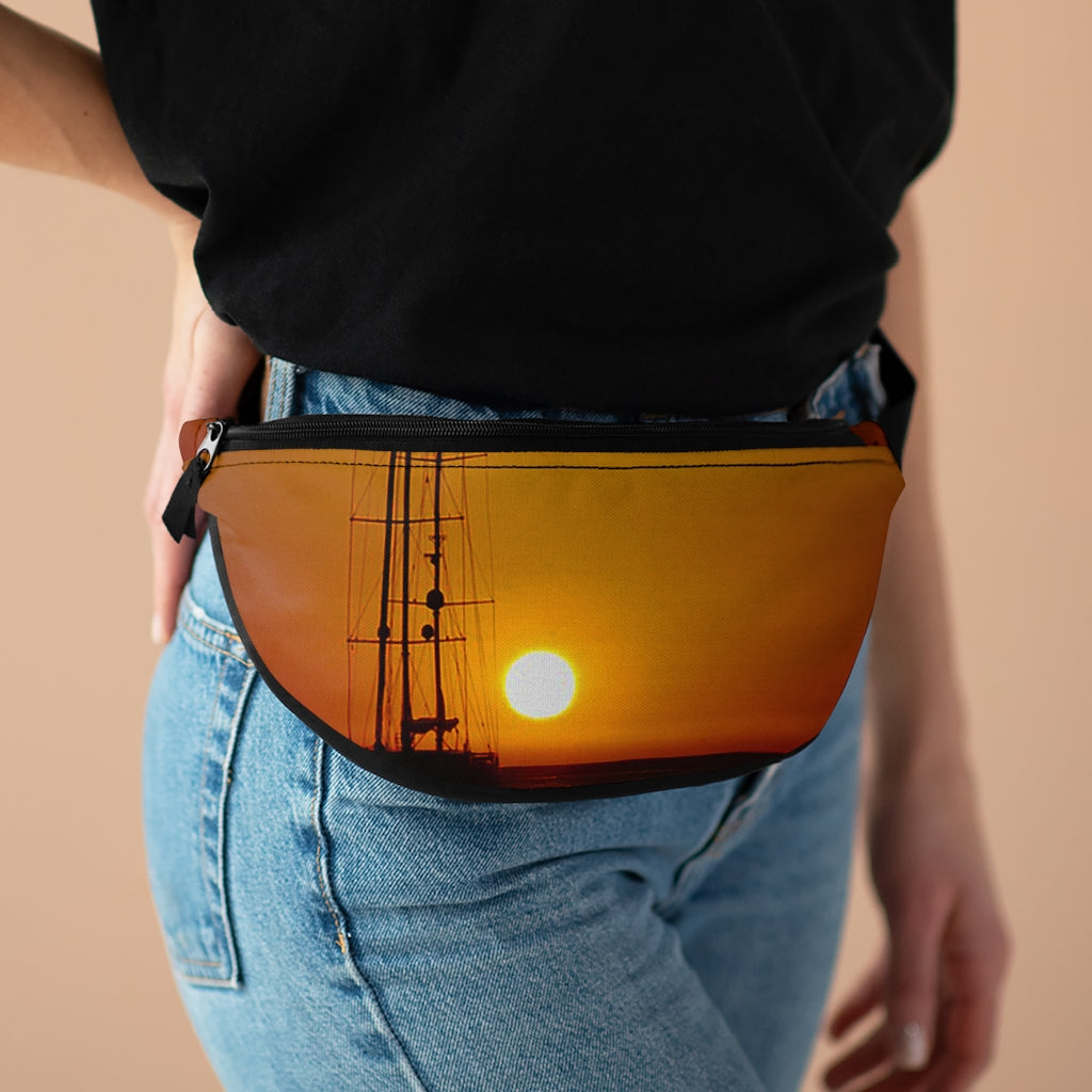 """Sunset"" Fanny Pack - Cluedshopperclothing"