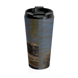 Stainless Steel Travel Mug - Cluedshopperclothing