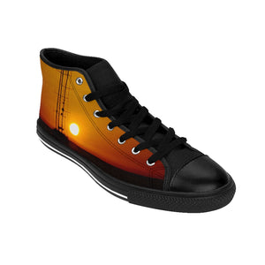 Men's High-top Sneakers Sunset - Cluedshopperclothing