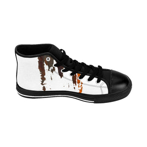"""Splash Cloud"" Women's High-top Sneakers - Cluedshopperclothing"