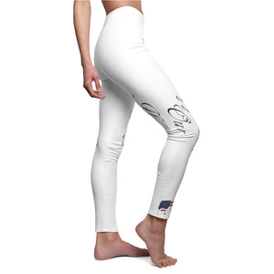 Women's Cut & Sew Casual Leggings - Cluedshopperclothing