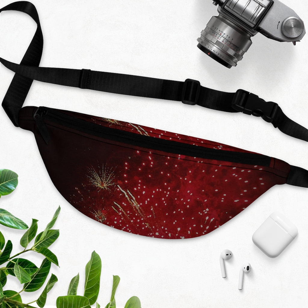 """Fireworks"" Fanny Pack - Cluedshopperclothing"