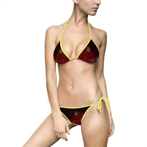 Fireworks Women's Bikini Swimsuit - Cluedshopperclothing