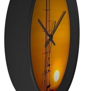Wall clock Sunset - Cluedshopperclothing