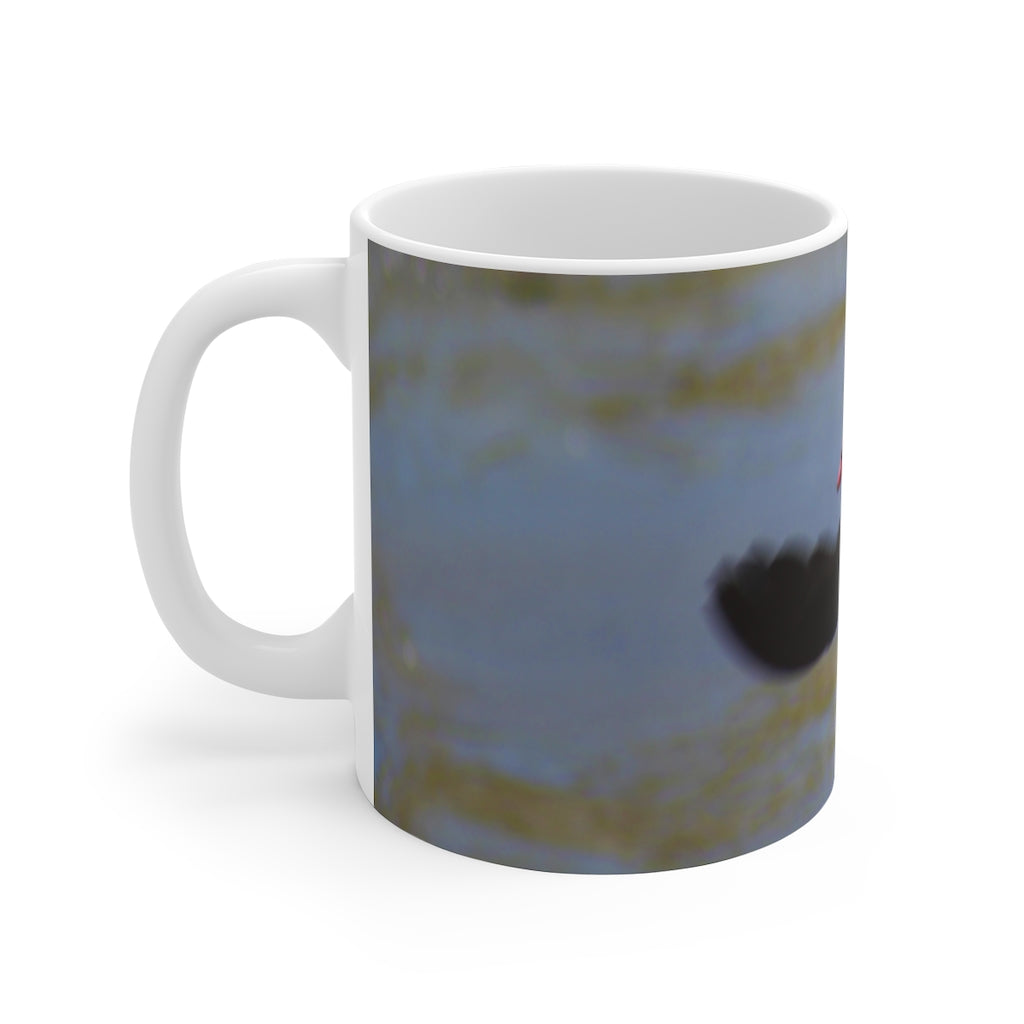 """Egyptian Goose Flight"" Mug 11oz - Cluedshopperclothing"