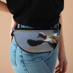"""Egyptian Goose Flight"" Fanny Pack - Cluedshopperclothing"