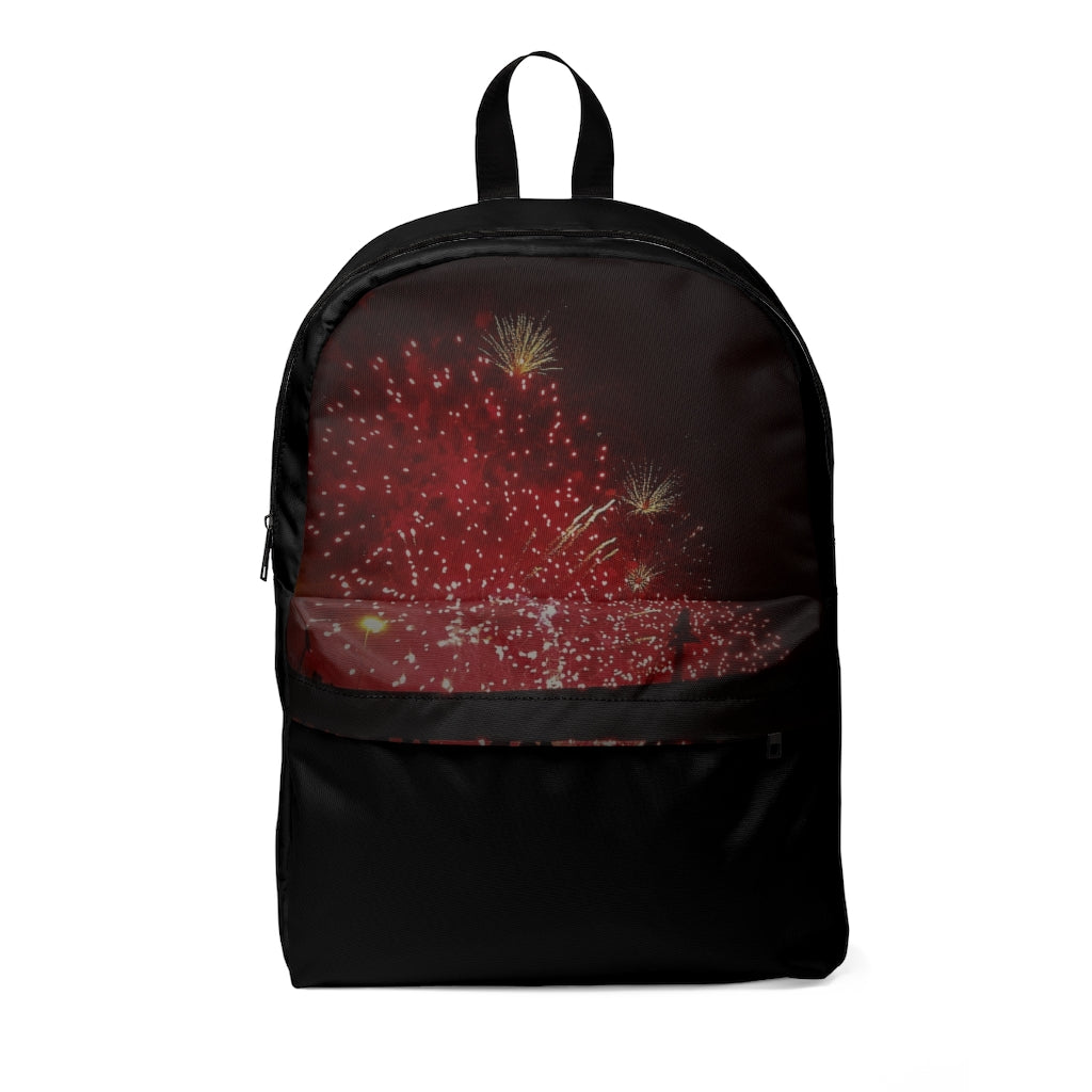 Unisex Classic Backpack Fire works - Cluedshopperclothing
