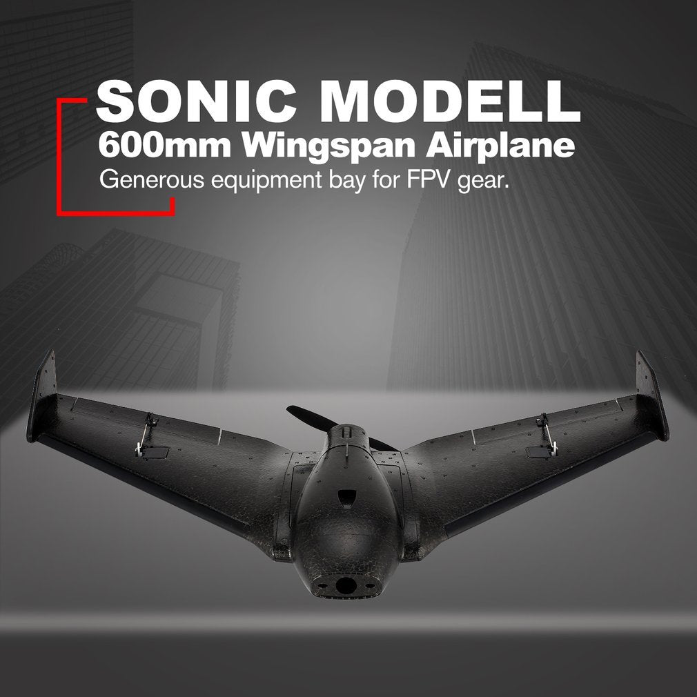 SONIC MODELL RC Racing Plane w/ 600mm Wingspan