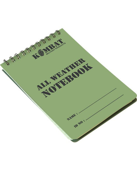 Kit Stores Waterproof Notepad