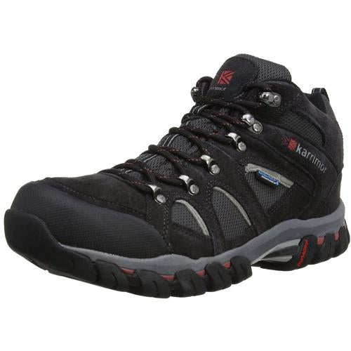 Mens Karrimor Bodmin IV Weathertite Mid Rise Waterproof Hiking Shoes