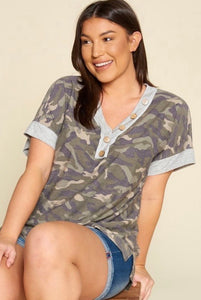 In This Moment - Camo Tee