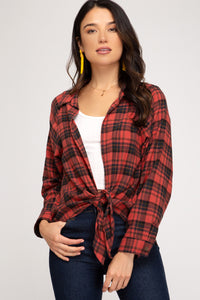 Check(ered) Me Out! - Plaid Top