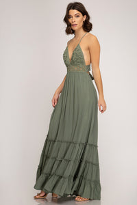 Romance Is In The Air - Green Dress