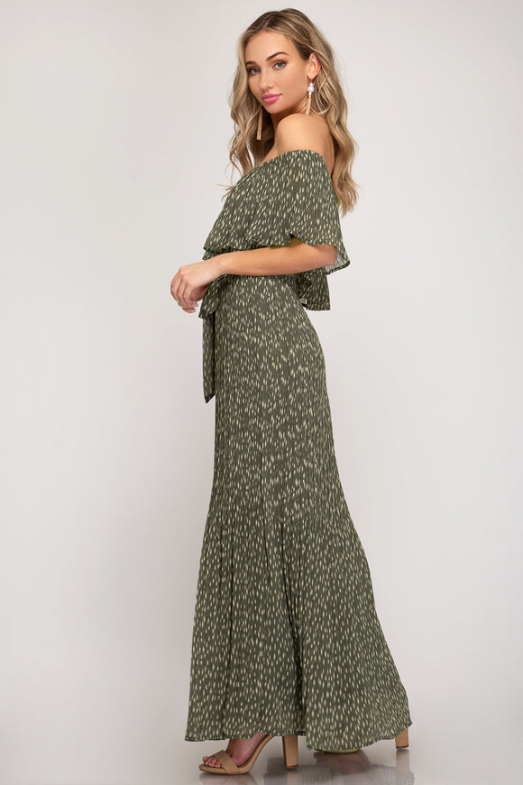 Dance With Me Next - Green Maxi