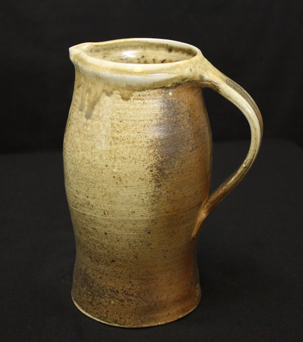Jug | 23cm H | Ash Celadon and natural ash