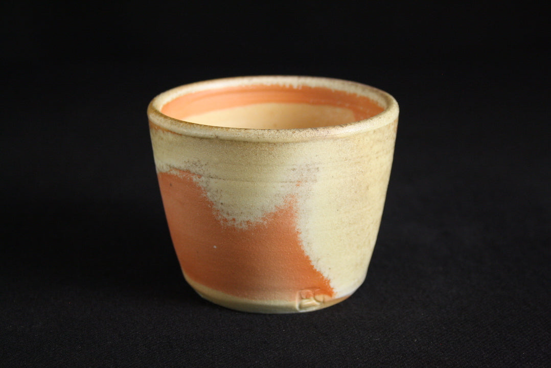 Porcelain Cup | 6.5cm H | Natural ash flashing