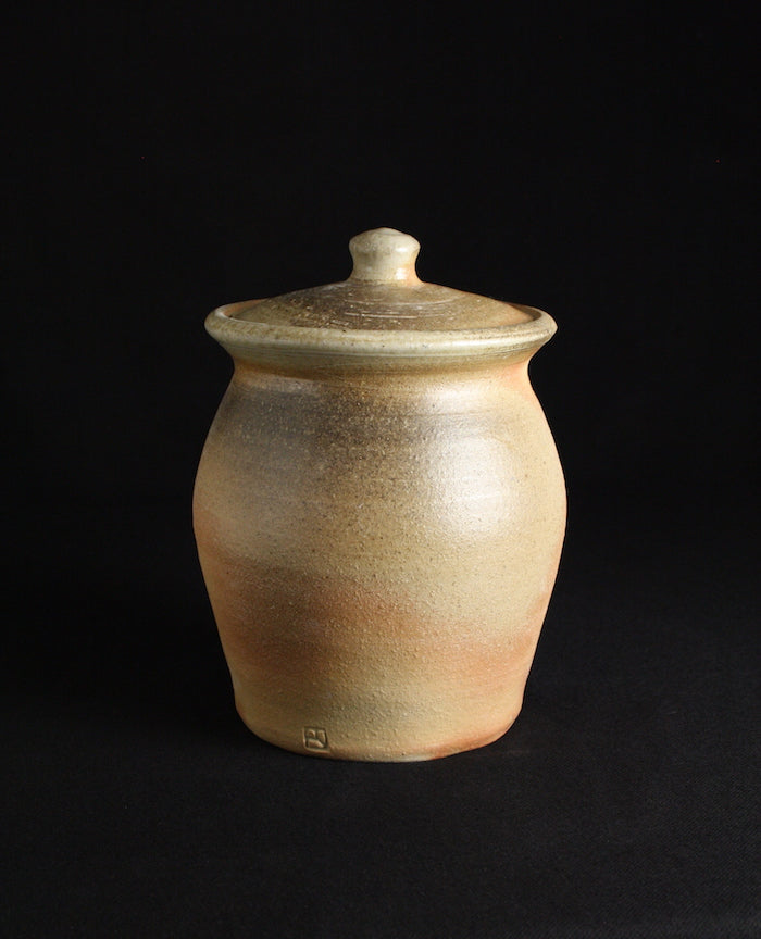 Store jar | 20cm H | Natural ash (80)