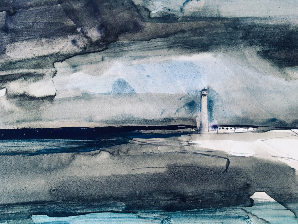 A3 Giclee Print, Barns Ness Lighthouse