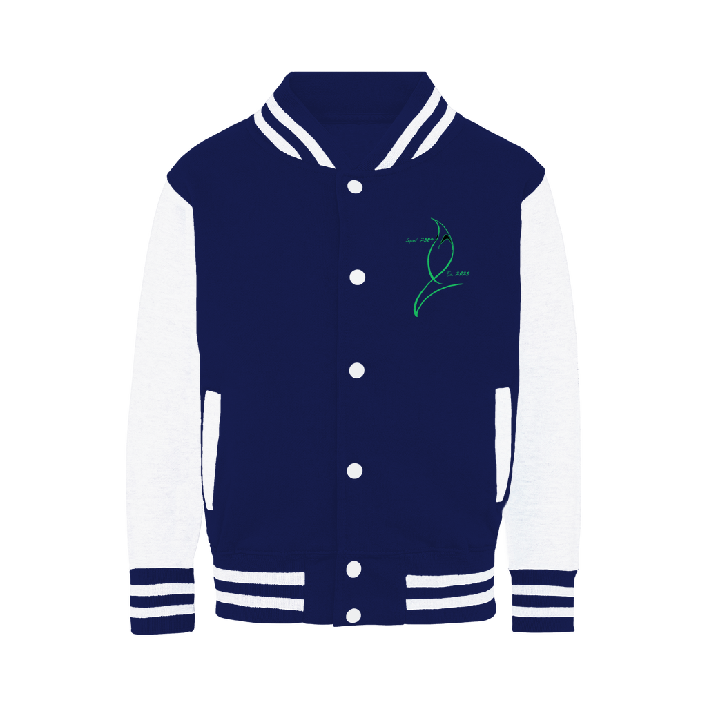 Blue Marlin Coluors Edition (Green) Varsity Jacket