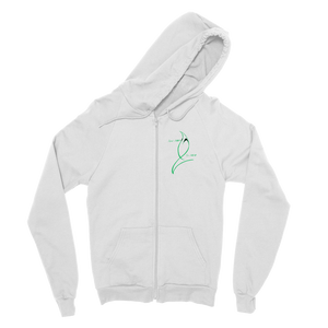 Blue Marlin Coluors Edition (Green) Classic Adult Zip Hoodie