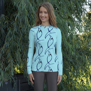 B.M.C&A Designer Women's Rash Guard