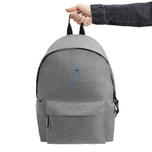 Embroidered B.M.C.A Backpack