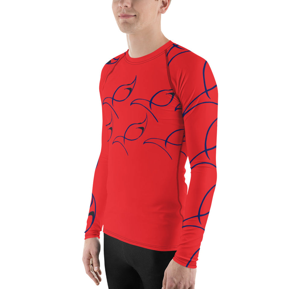 Blue Marlin Men's Designer Rash Guard
