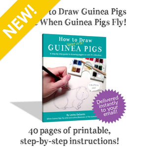 How to Draw Super Cute Guinea Pigs - eBook