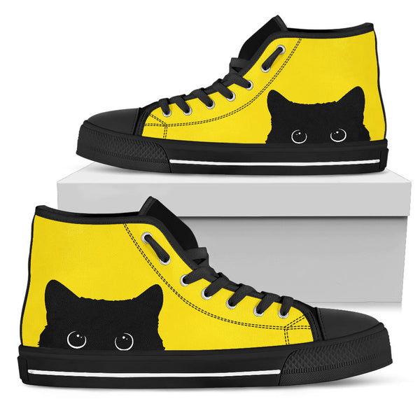 Cute Sneak Cat Shoes