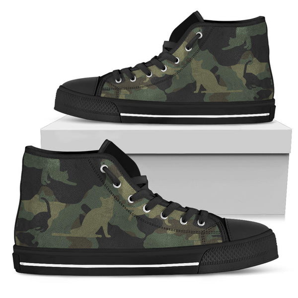Cat Camouflage Shoes