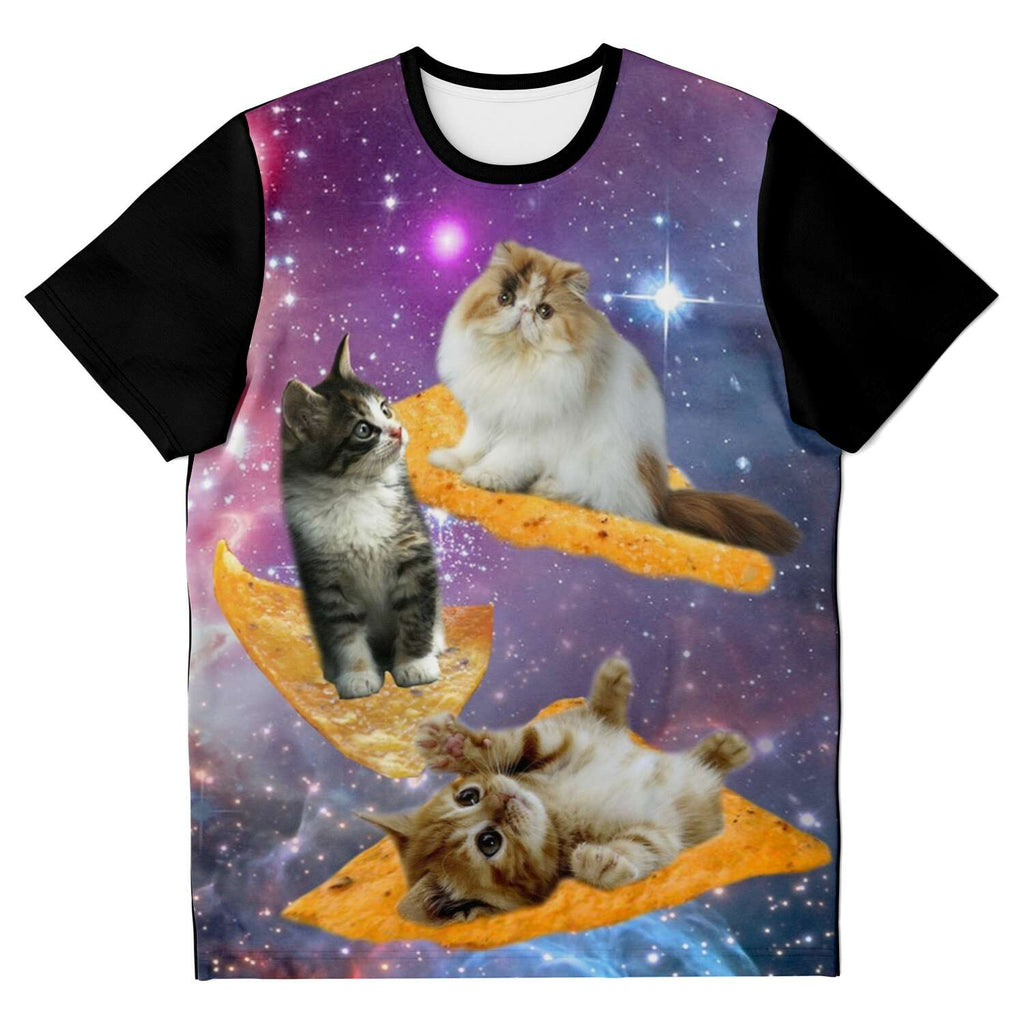 Pizza Cat AOP Unisex T-shirt