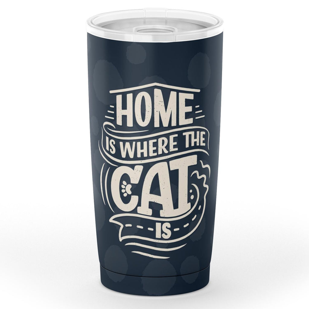 Home Is Where The Cat Is Tumbler