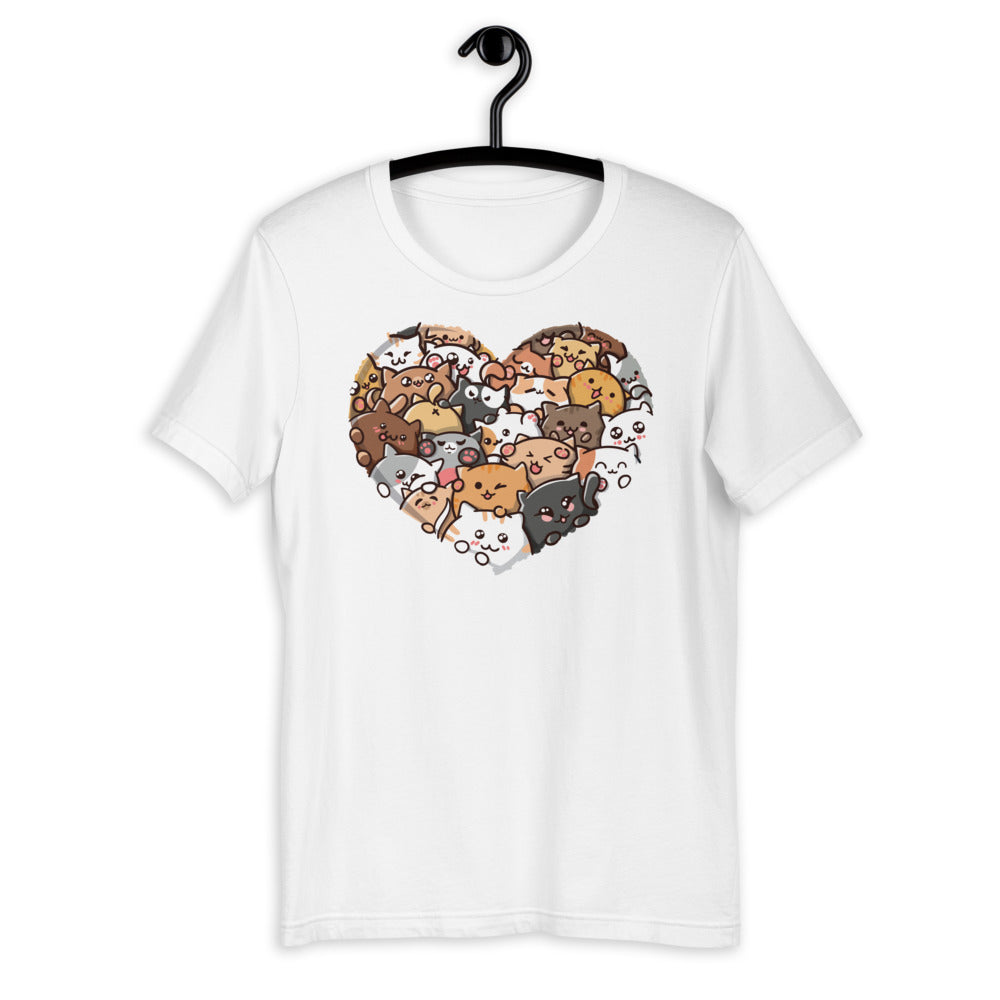 Lovely Cats Unisex T-shirt