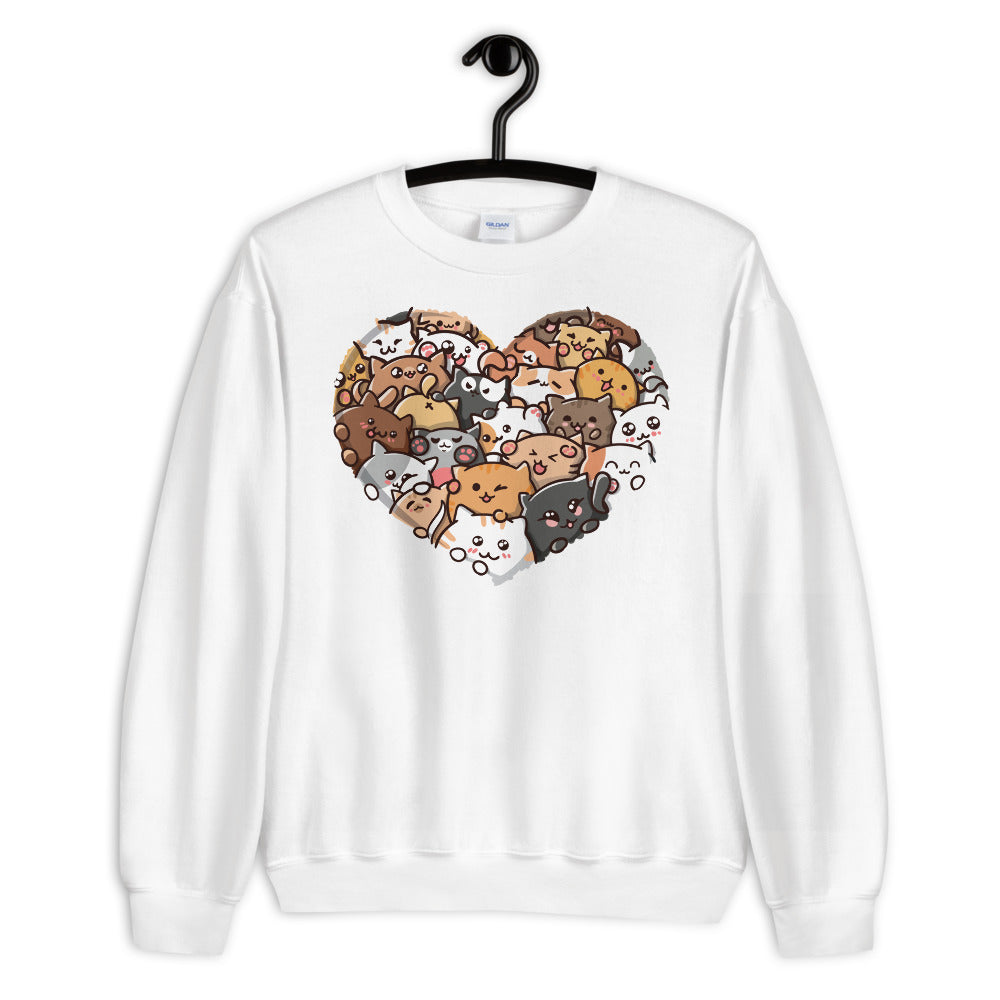 Lovely Cats Unisex Sweatshirt