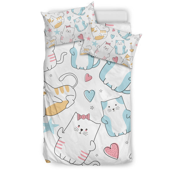 Lovely Cats Bedding Set