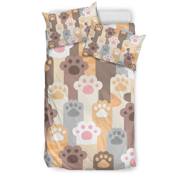 Cute Cat Paws Bedding Set