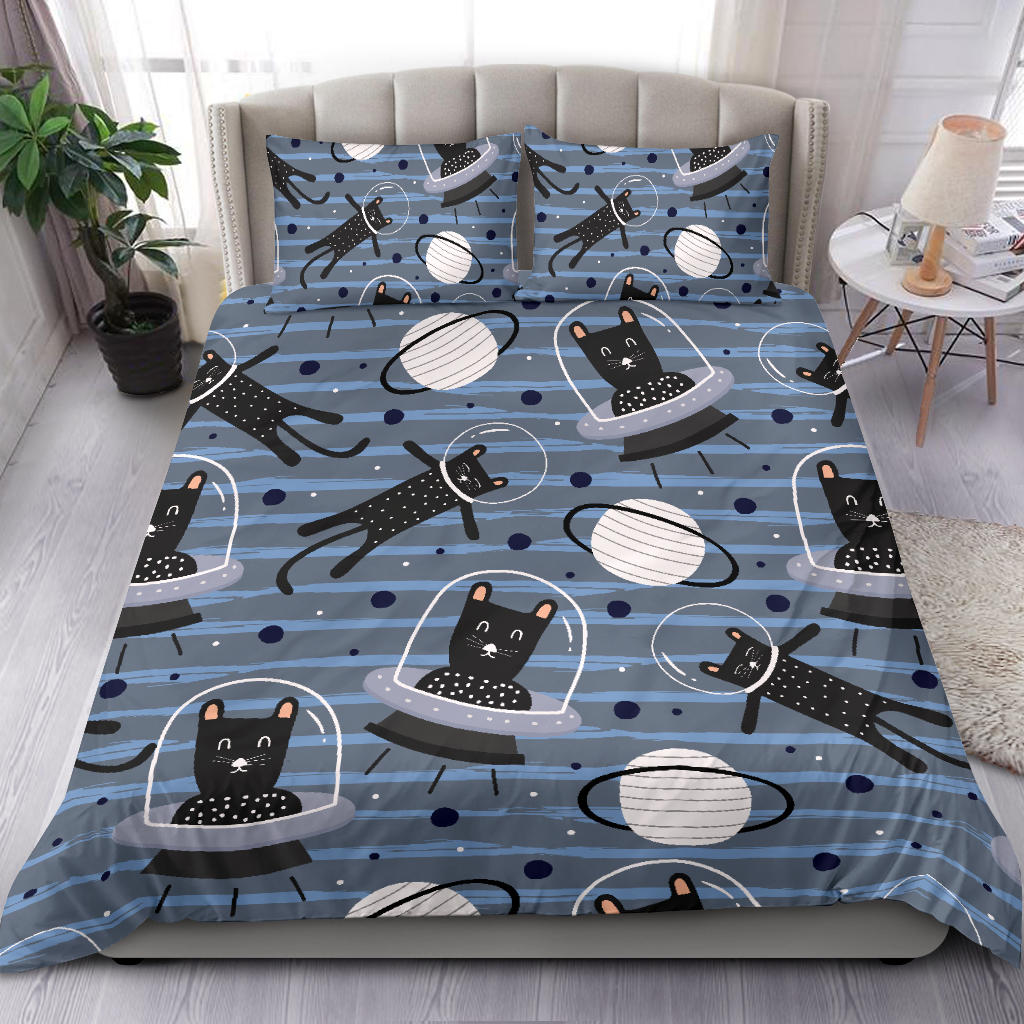 Space Cats Bedding Set