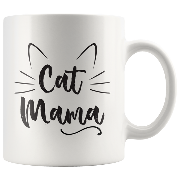 Cat Mama and Cat Papa Combo Mugs
