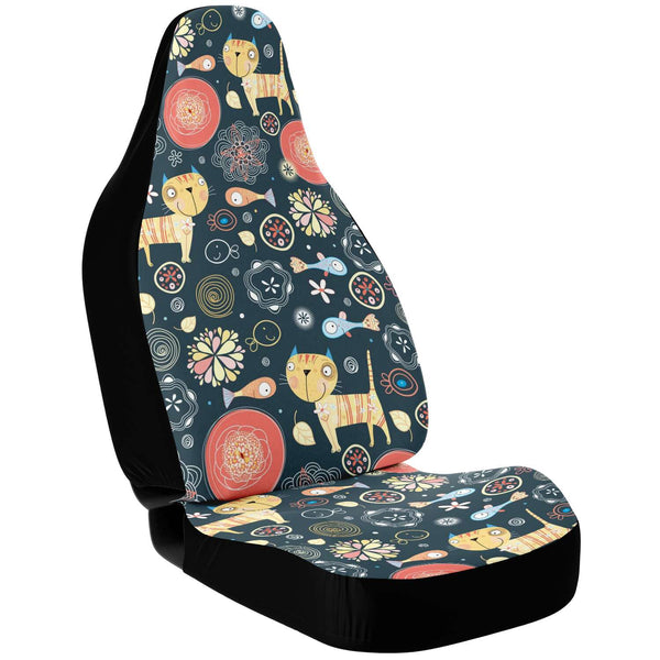 Lovely Cats Car Seat Cover